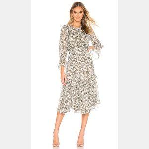 Anthropologie Misa Los Angeles Laia Midi Dress